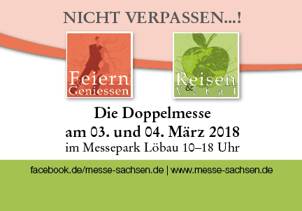 Die Doppelmesse am 03. und 04. März 2018