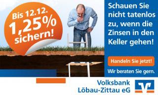 - Anzeige - Volksbank Löbau-Zittau eG