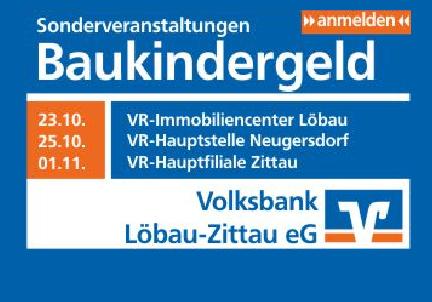 - Anzeige - Volksbank Löbau - Zittau