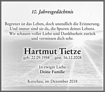 Familienanzeigen - Trauer