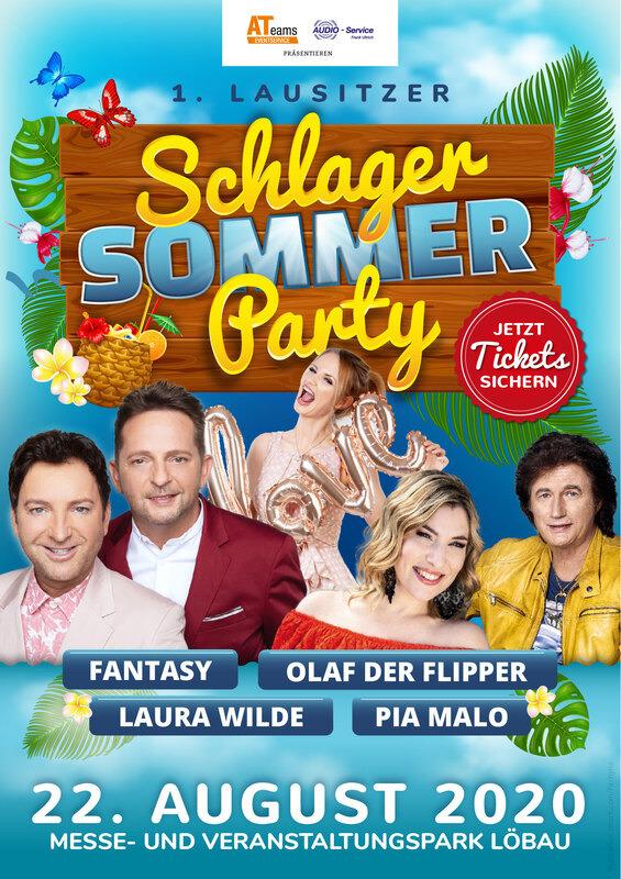 Die 1. Schlager-Sommer-Party mit Fantasy uvm. - mit Pia Malo, Laura Wilde, Olaf dem Flipper