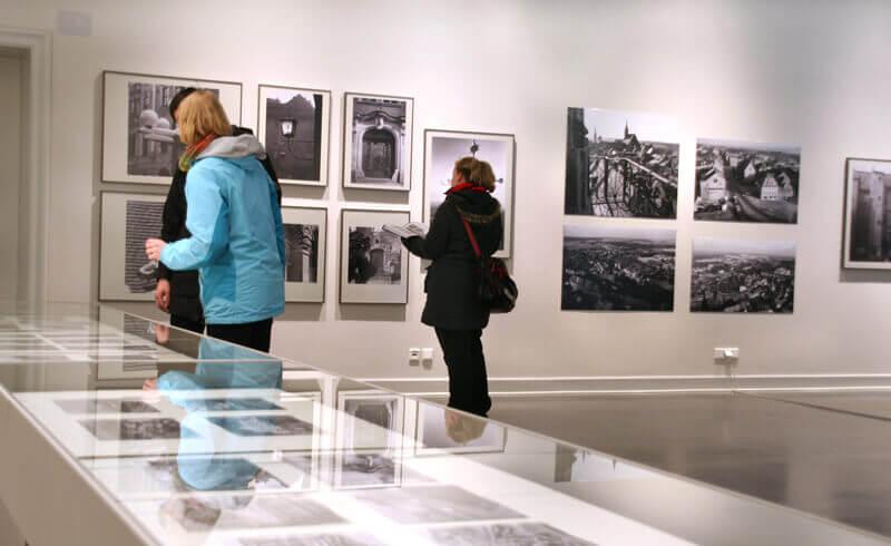 """Ausstellung """"Burgen, Schlösser und Gärten in Sachsen"""""""
