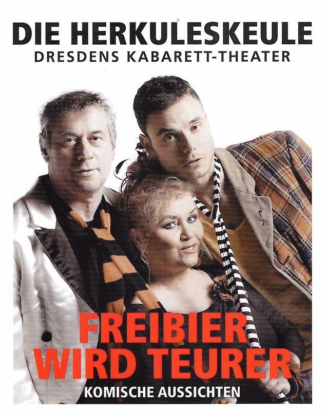 """""""Freibier wird teuer"""" - Gastspiel mit der Herkuleskeule Dresden"""