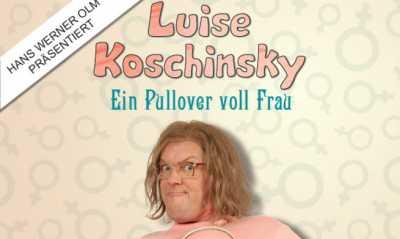 """Comedy-Lesung mit Hans Werner Olm - """"Luise Koschinsky – Ein Pullover voll Frau"""""""