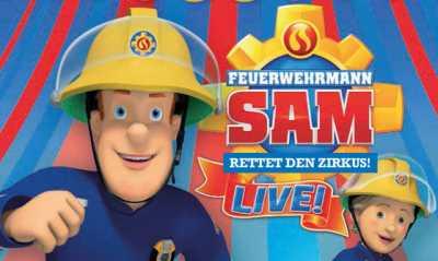 Feuerwehrmann Sam rettet den Zirkus! LIVE!