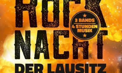 Die größte Rocknacht der Lausitz mit drei Bands - mit tributes to AC DC, Rammstein und Kiss