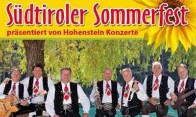 Südtiroler Sommerfest 2018: Kastelruther Spatzen - mit Vincent & Fernando