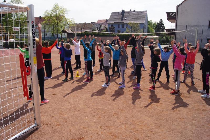 Schulsportanlage in Wiesa wurde eingeweiht