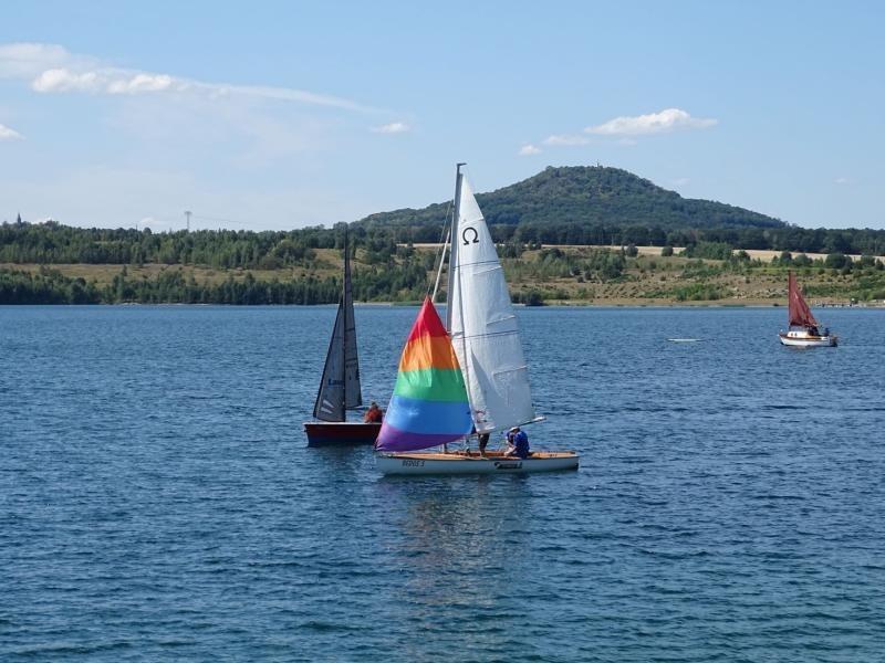 Am 1. Mai startet nach der Segel- nun auch die Badesaison am See