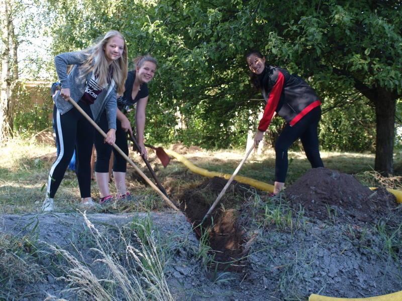 Comenius-Oberschuler aus Mücka im Einsatz für die Natur