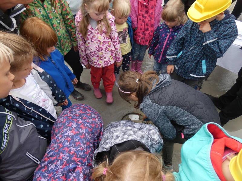 Kinder geben Wiesa eine neue Mitte