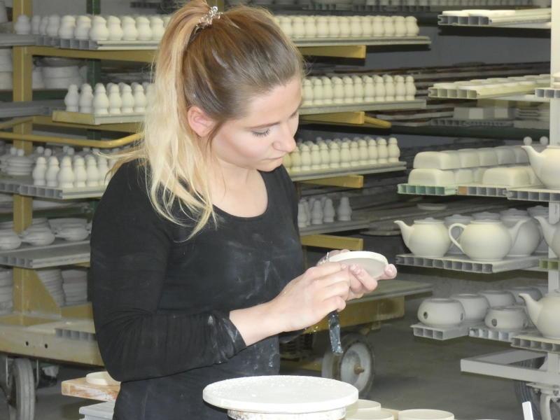Kannegießers können auch Porzellan