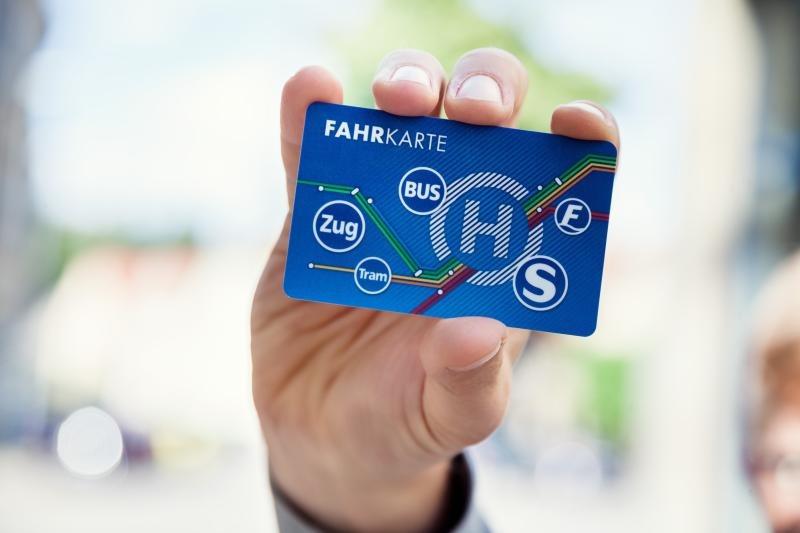 Fahrkarte jetzt digital auf Chip