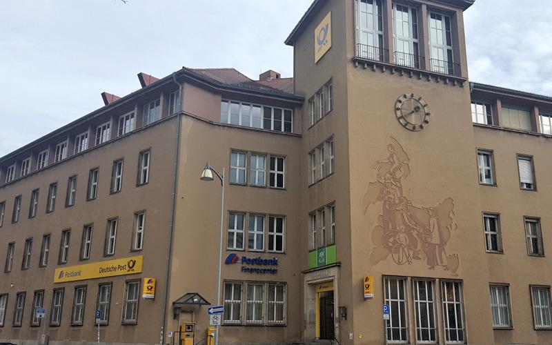 Kurzzeitige Schließung des Postbank Finanzcenters in Bautzen