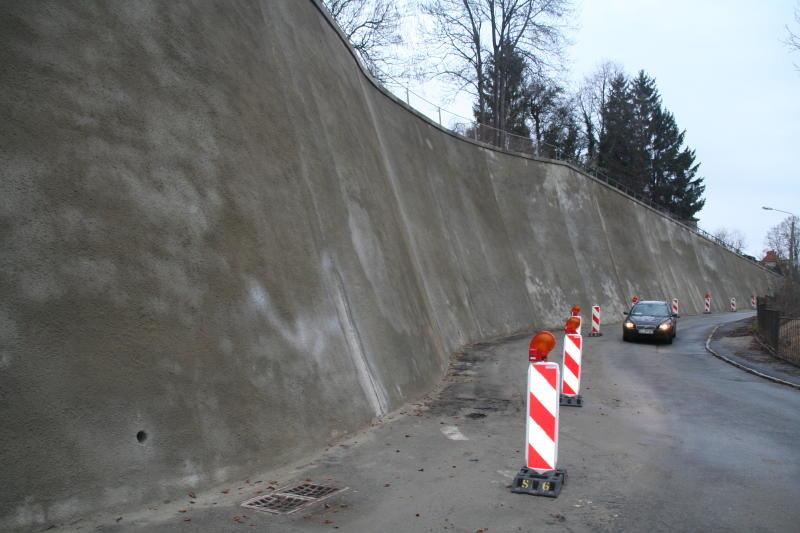 Die Bergstraße wird grundhaft ausgebaut