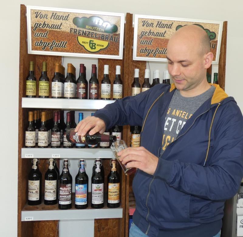 Kamenzer Würstchen aus der Flasche