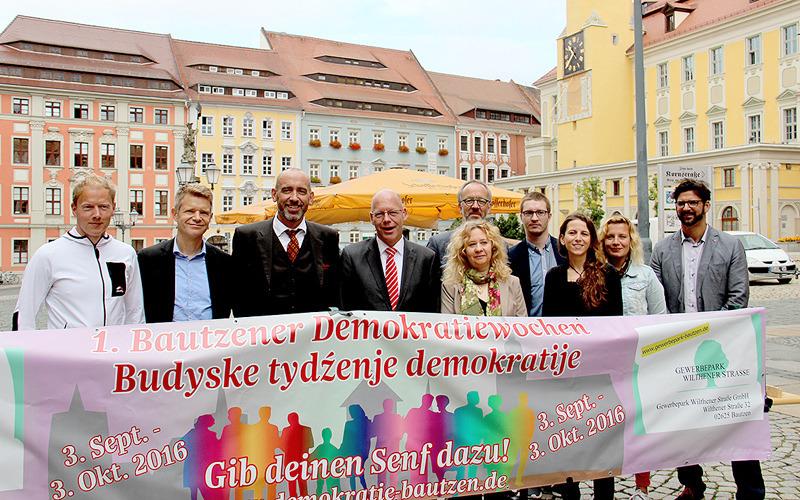 1. Demokratiewochen in Bautzen geplant