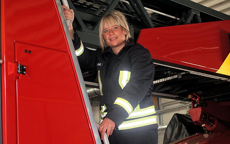 Der Traumberuf: Feuerwehrfrau