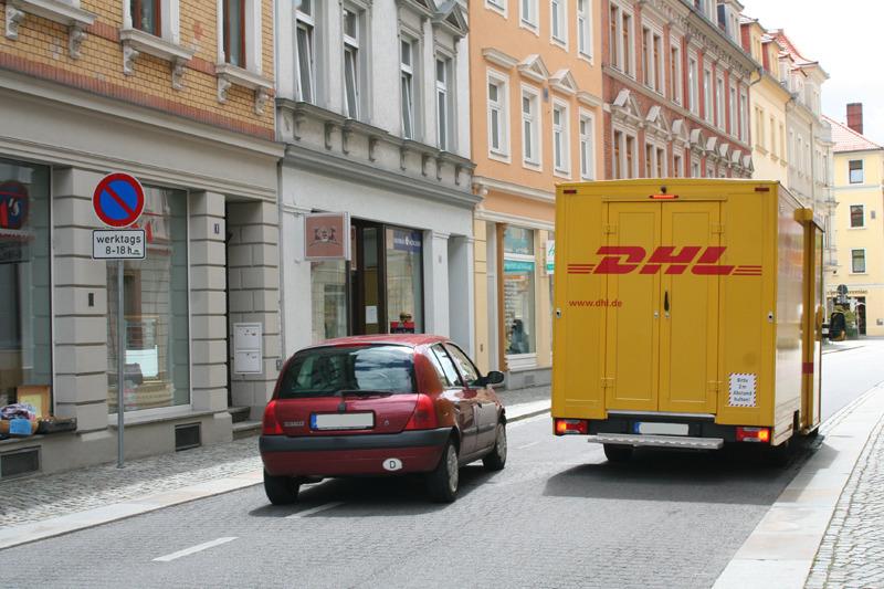 Verkehrssituation in  der Seminarstraße