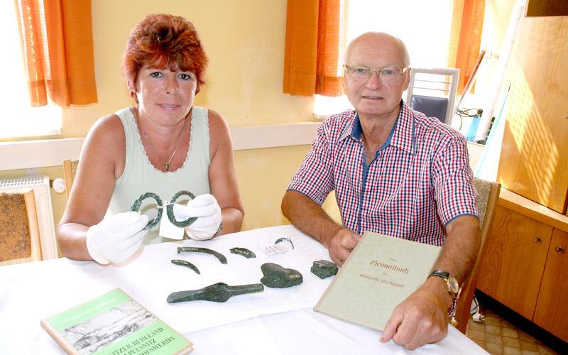 Bronzeschatz erstmals in Seeligstadt zu sehen