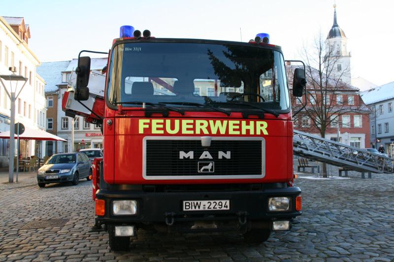 Küchenbrand in Mietwohnung