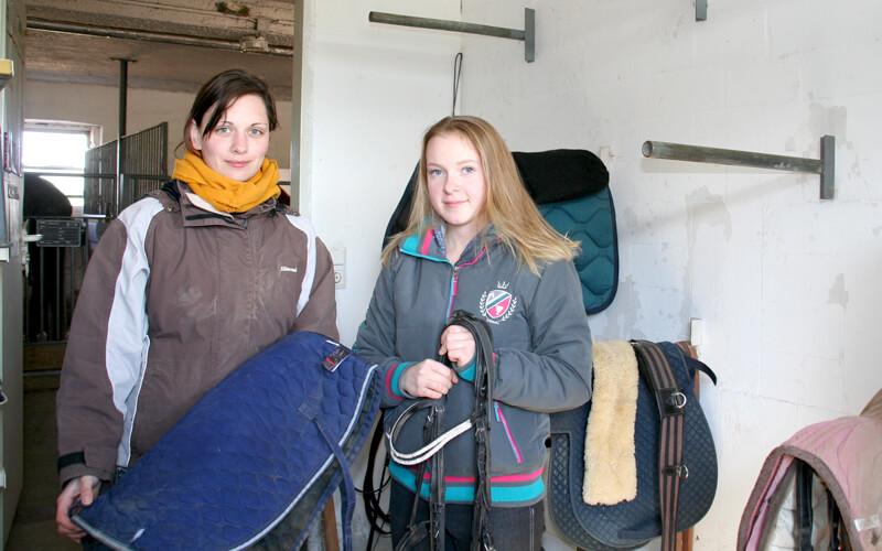 Reiter machen weiter – auch ohne Sattel