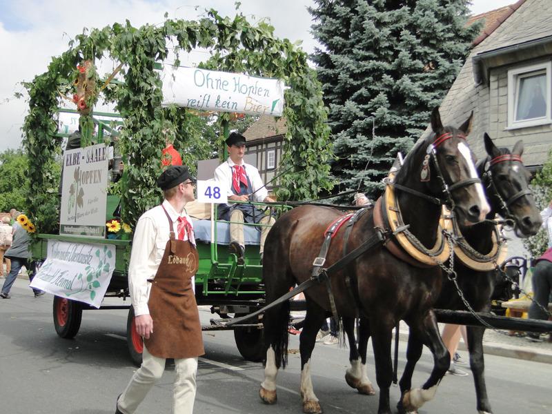 24. Eibauer Bierzug zieht tausende Besucher aus nah und fern an