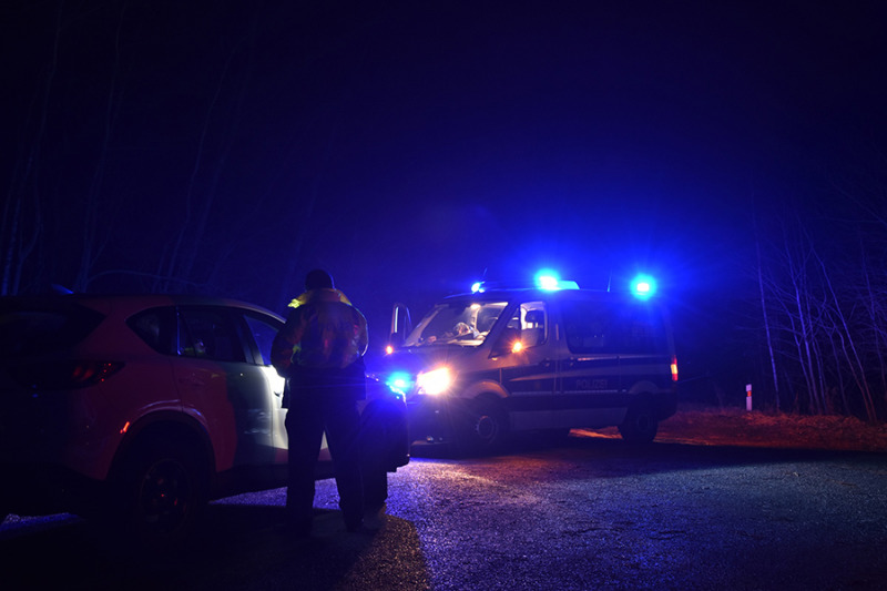 Polizeikontrollen an der Grenze