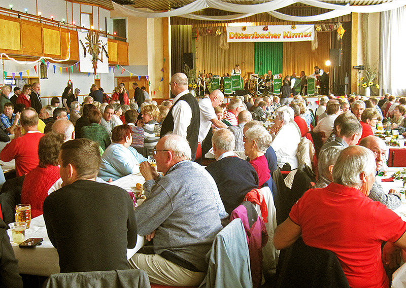 Dittersbacher feiern ihre Kirmes
