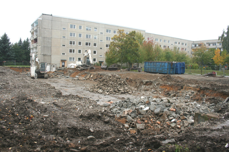 Löbau-Ost wird  weiter zurückgebaut