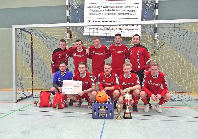 FSV 1990 Neusalza-Spremberg gewinnt Sparkassencup