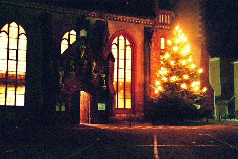 Weihnachten in der Löbauer Nikolaikirche