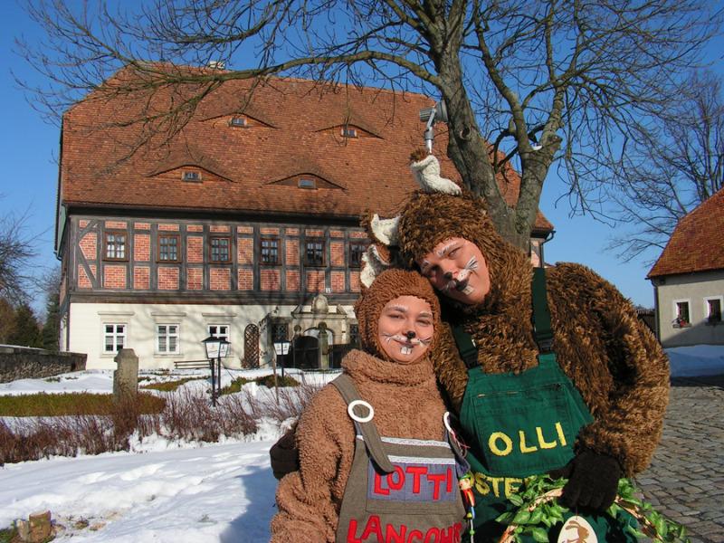Osterhasenfest auf dem Eibauer Faktorenhof
