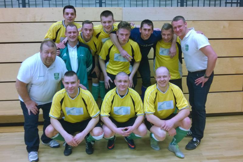 Futsal -  Vordere Platzierungen bei Meisterschaft