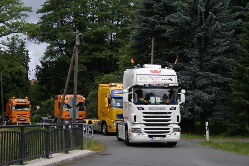 Truckertreffen auf dem Festplatz