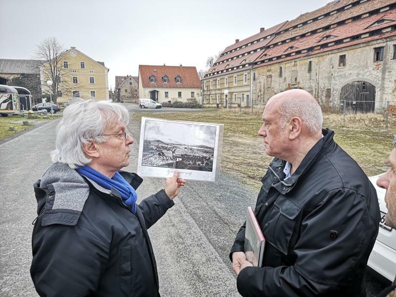 Bundesmittel für historische Baudenkmäler in der Region