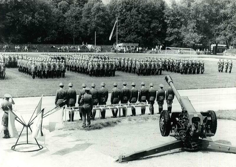 Ausstellung zur Militärgeschichte der Stadt Löbau