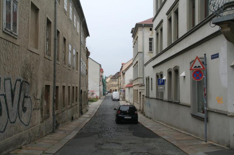 Amalienstraße voll gesperrt