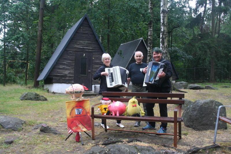 Die Finnhütten vor dem Abriss gerettet