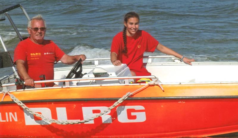 50 Jahre im Einsatz als Rettungsschwimmer