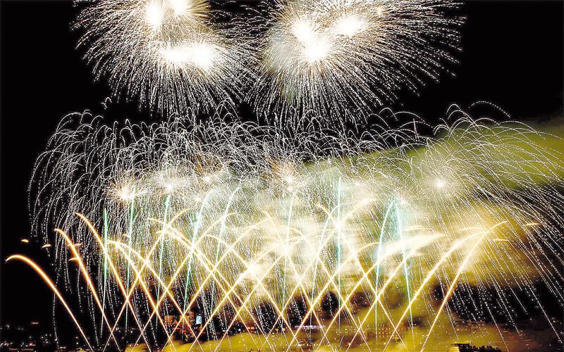 Feuerwerke nur dank Ausnahmen von Regel