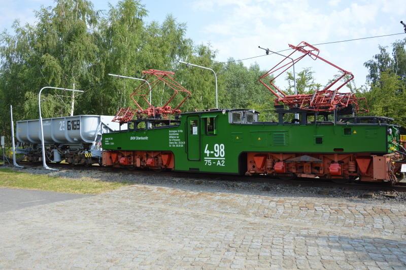 Fahrt in die Geschichte des Braunkohlebergbaus um Zittau