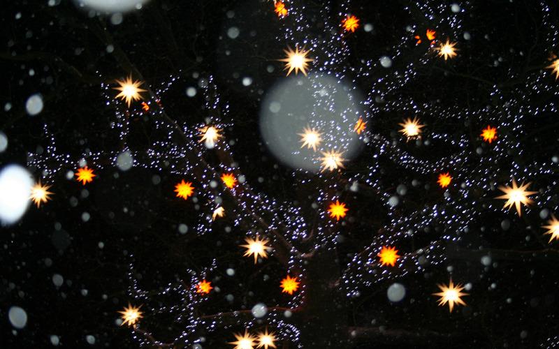 Herrnhut im festlichen Glanz der Sterne