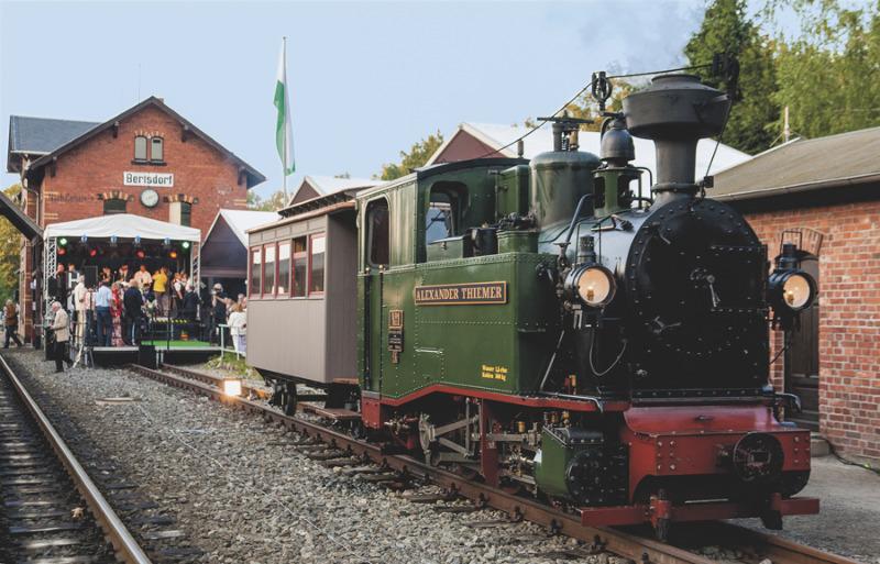 Eisenbahnfest und Oldtimertage
