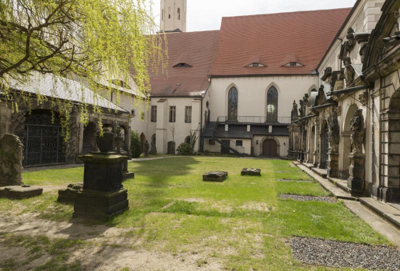"""""""Die Zimmerschlacht"""" im Zittauer Klosterhof"""
