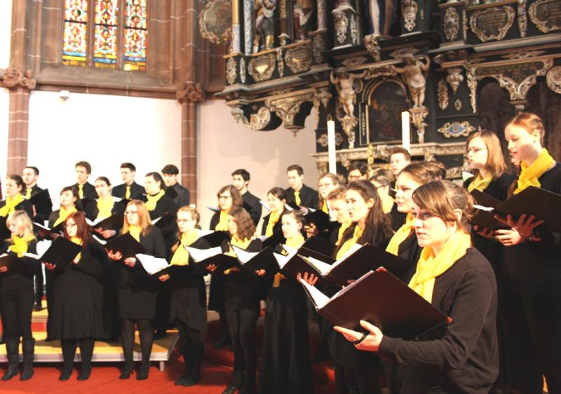 Landesjugendchor gibt Konzert
