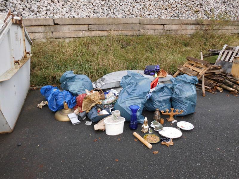 Müllsündern auf der Spur