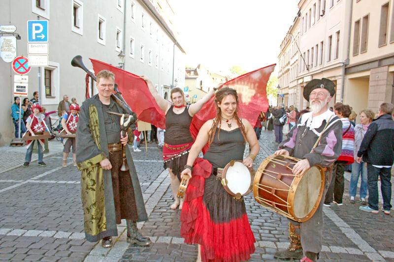 Die Stadt Zittau wird zum Paradiesgarten