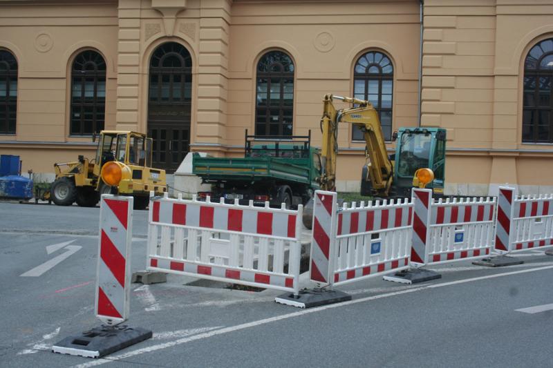 Einschränkungen auf dem Stadtring