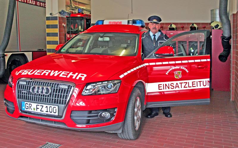 Feuerwehrchef geht in den Ruhestand